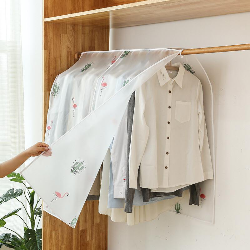 新款便攜超大立體透視衣物防塵罩 衣物防塵罩 衣物整理袋 衣物防塵袋