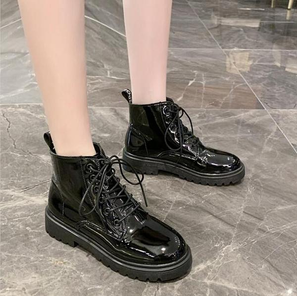 馬丁靴女夏季薄款2020年新款透氣網紅英倫風百搭學生瘦瘦短靴春秋 進店領券