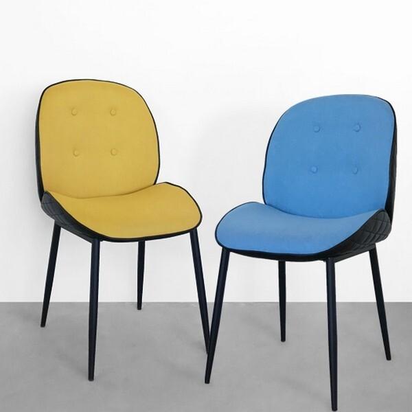 18park-迪爾雙色餐椅 [餐椅,藍]