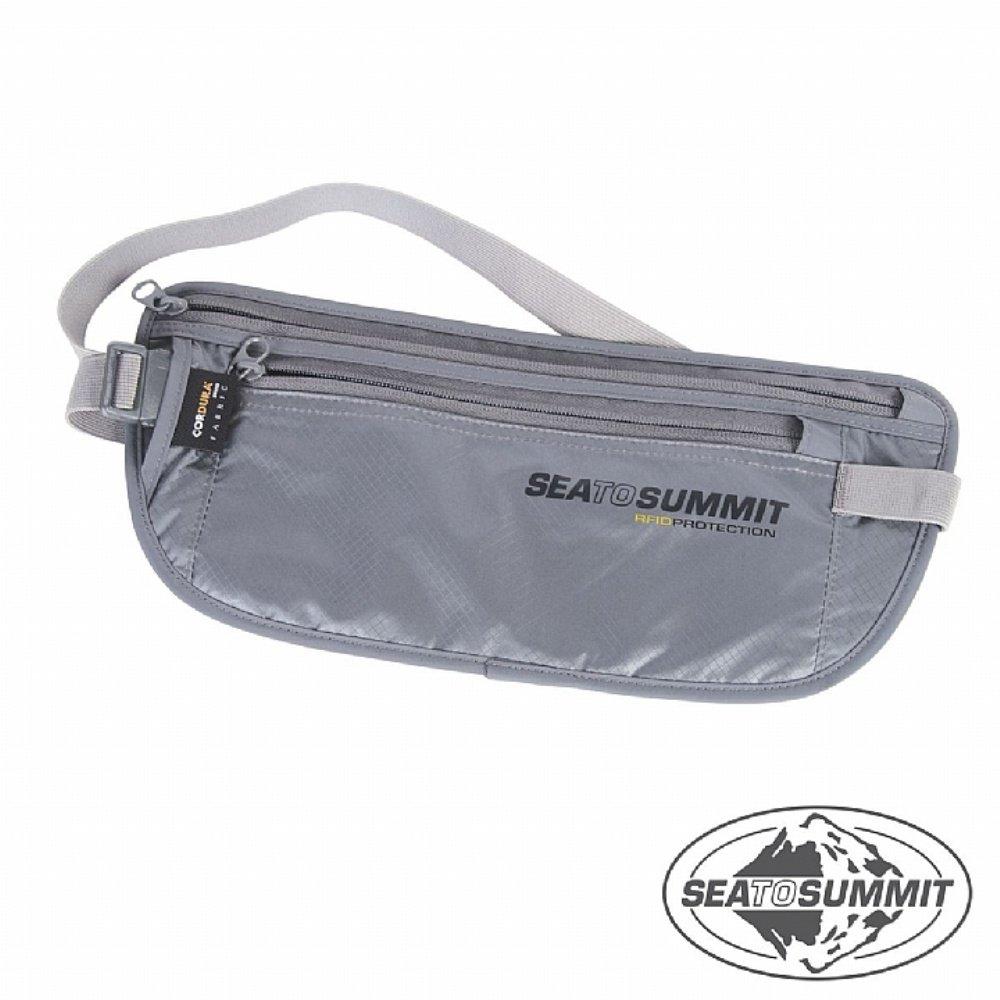 SEATOSUMMIT RFID旅行安全藏錢腰包(灰色)