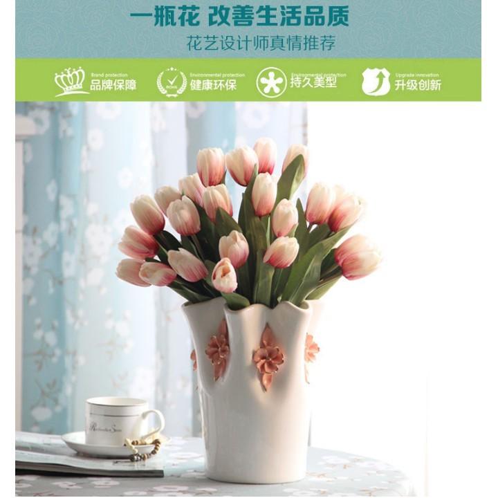 陶瓷花瓶客廳餐桌擺件現代簡約家居裝飾品電視櫃新房擺設結婚禮物