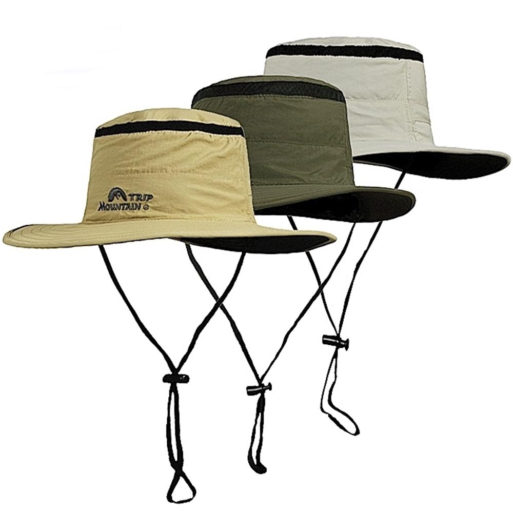 MOUNTAIN TRIP 360°大圓邊透氣網帽漁夫帽MC-242闊邊360度防曬遮陽帽釣漁帽圓盤帽休閒帽登山帽