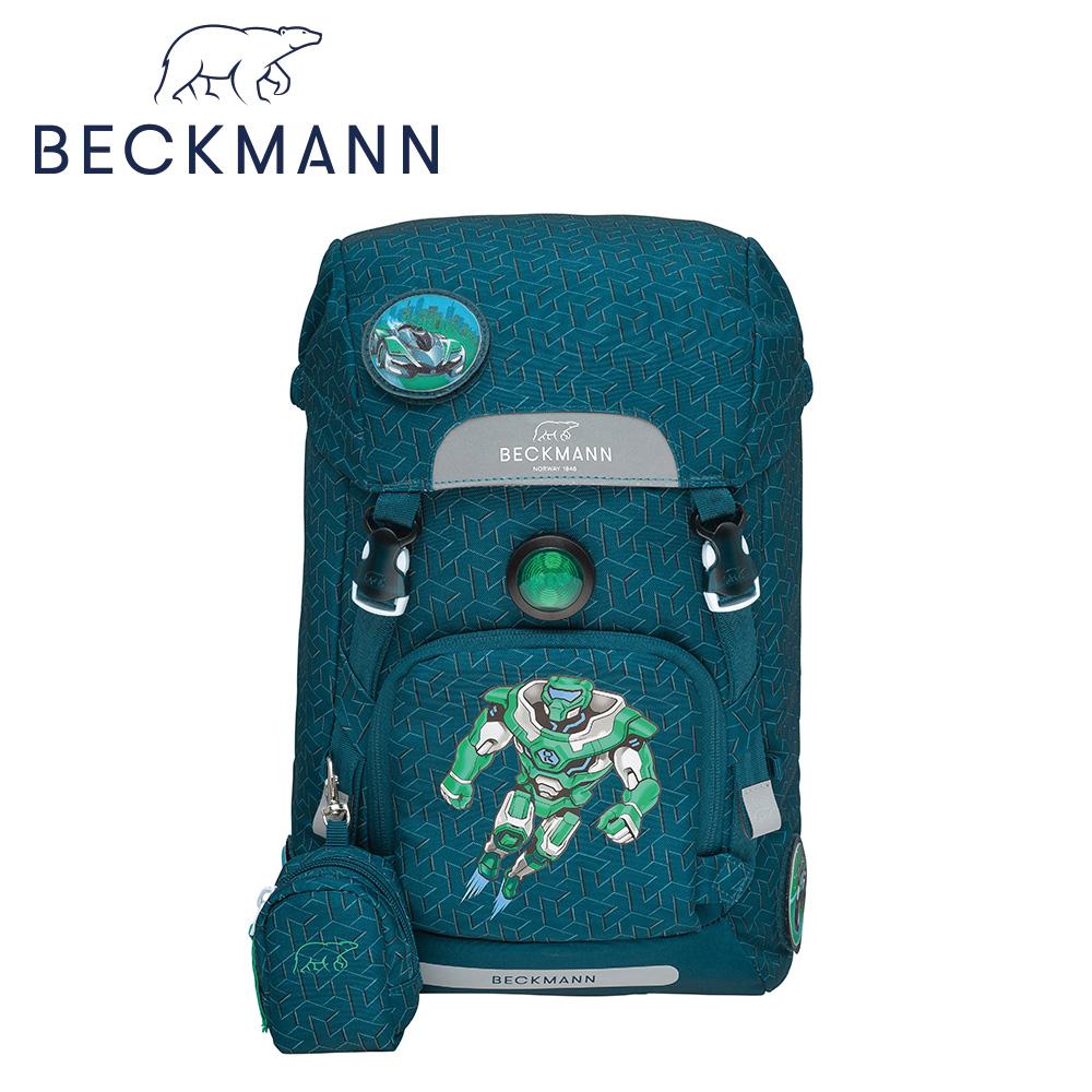 【Beckmann】兒童護脊書包22L- 超能機器人