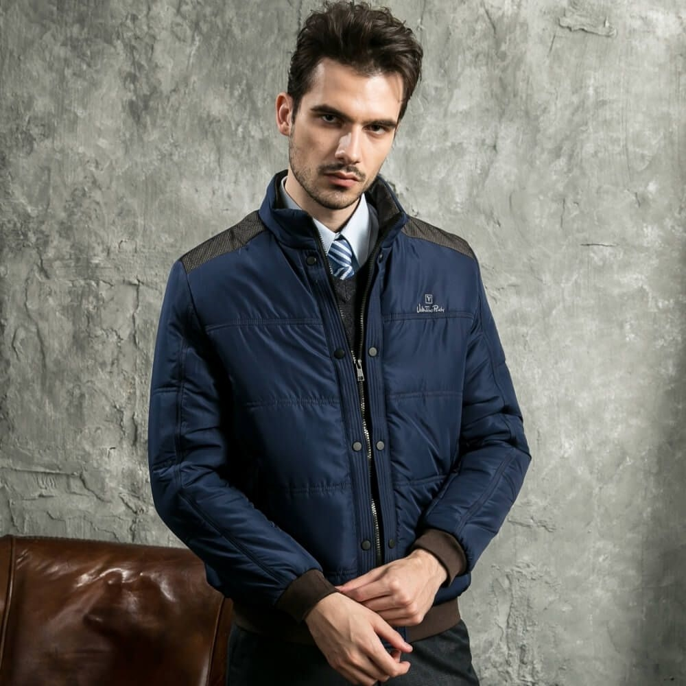 Valentino Rudy范倫鐵諾.路迪 輕量化休閒外套-丈藍