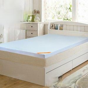 【LooCa】吸濕排汗彈力10cm記憶床墊-單人(共3色)