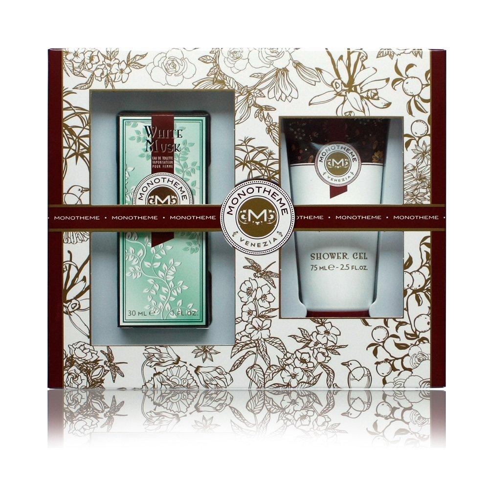 MONOTHEME 吟遊詩人威尼斯花園香氛禮盒-白麝香(淡香水30ml+沐浴露75ml)