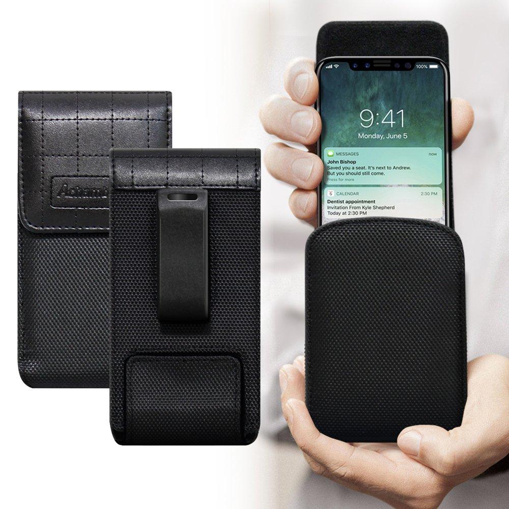 二代Pro Achamber for iPhone Xs/ iPhone X 簡約直立旋轉腰夾皮套