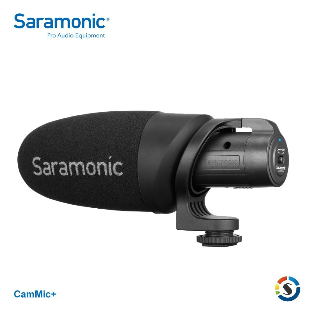 Saramonic楓笛 CamMic+ 輕量化相機、手機專用麥克風