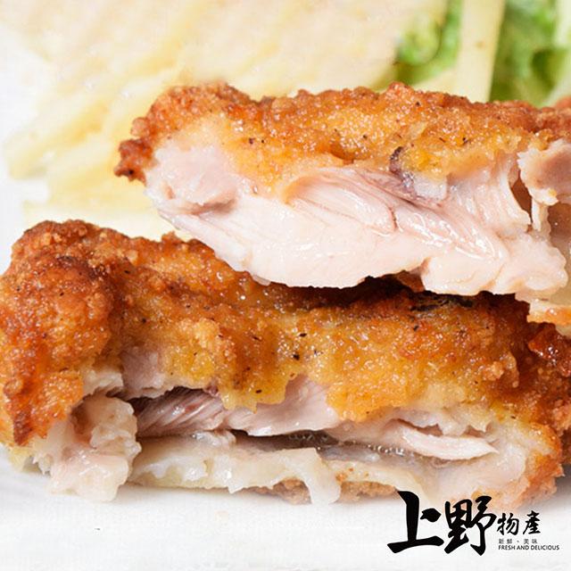 【上野物產】超香脆 日本肯德基味 8兩炸雞排(300g土10%/片) x7片
