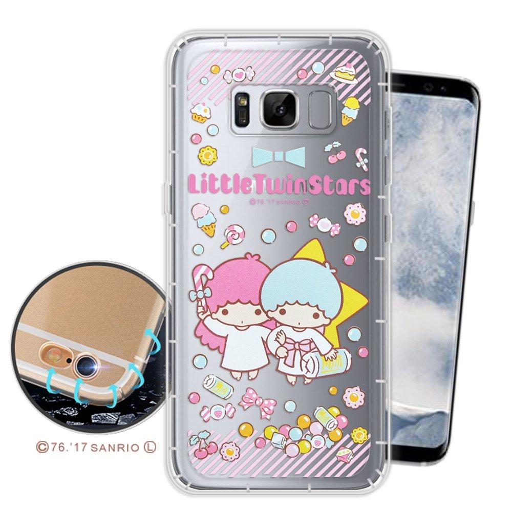 三麗鷗授權正版 KIKILALA Samsung Galaxy S8 空壓氣墊保護殼(糖果雙子) 三星