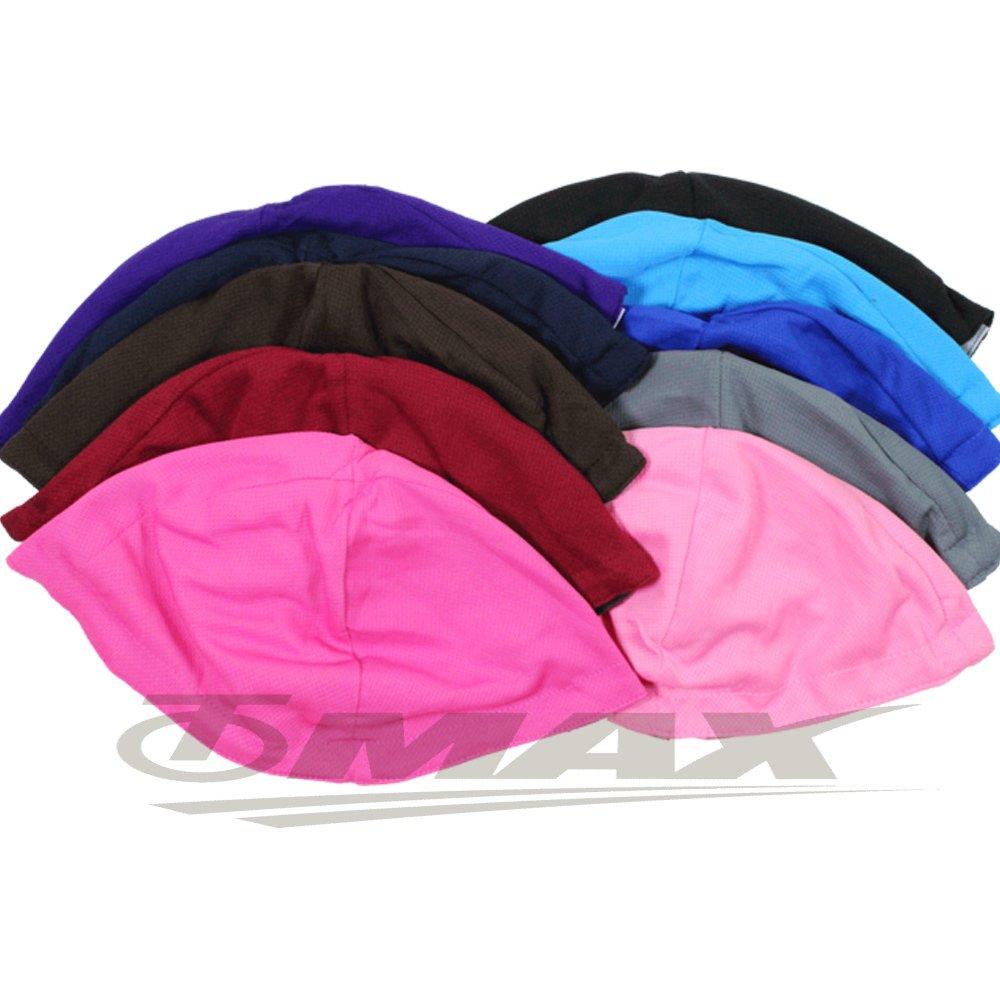 omax透氣雙層3D安全帽內襯-6入(顏色隨機)