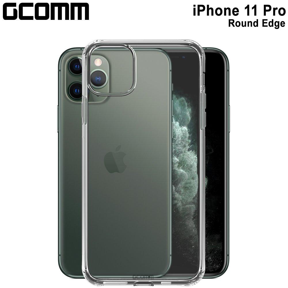 GCOMM iPhone 11 Pro 清透圓角防滑邊保護殼 Round Edge