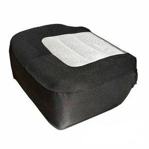 3D 樂活椅套【座套】1入騎士灰黑/通用型