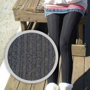 U-want 靴下良品立體羅紋(28)保暖襪-深灰色