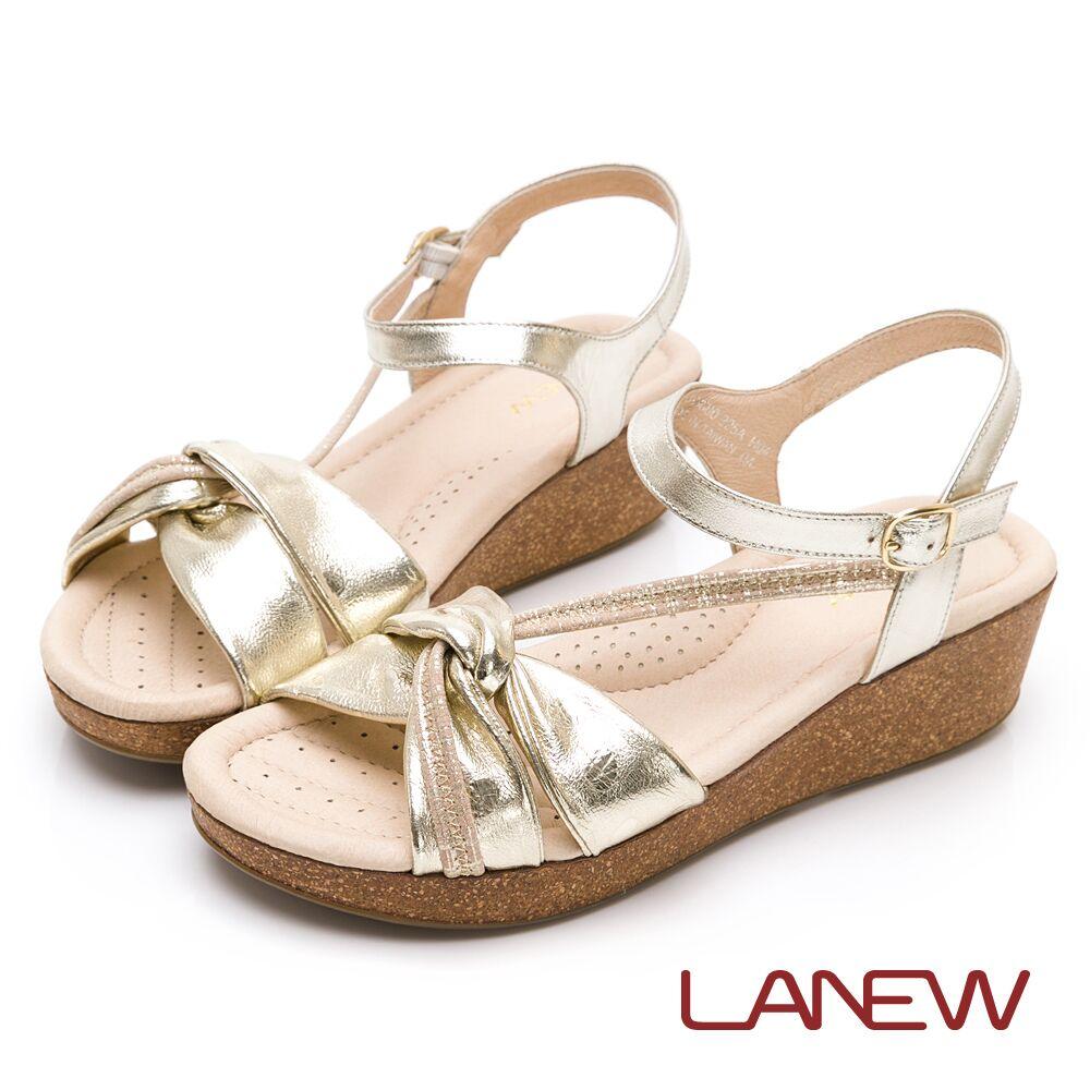 LA NEW SO Lite減壓厚底羊皮涼鞋(女226063680)