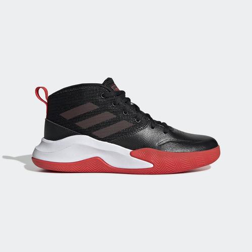 Adidas OWNTHEGAME K WIDE [EF0309] 大童鞋 籃球 運動 避震 舒適 穿搭 愛迪達 黑紅