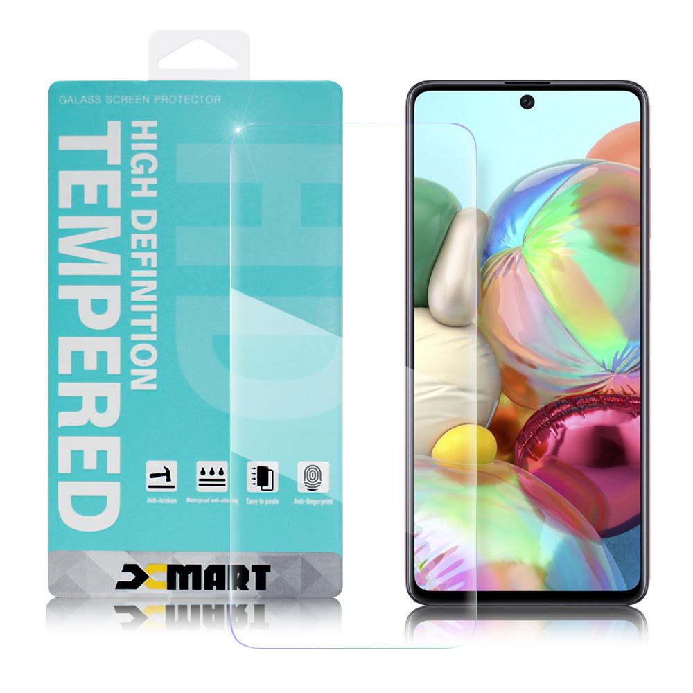 Xmart for 三星 Samsung Galaxy A71 薄型 9H 玻璃保護貼-非滿版