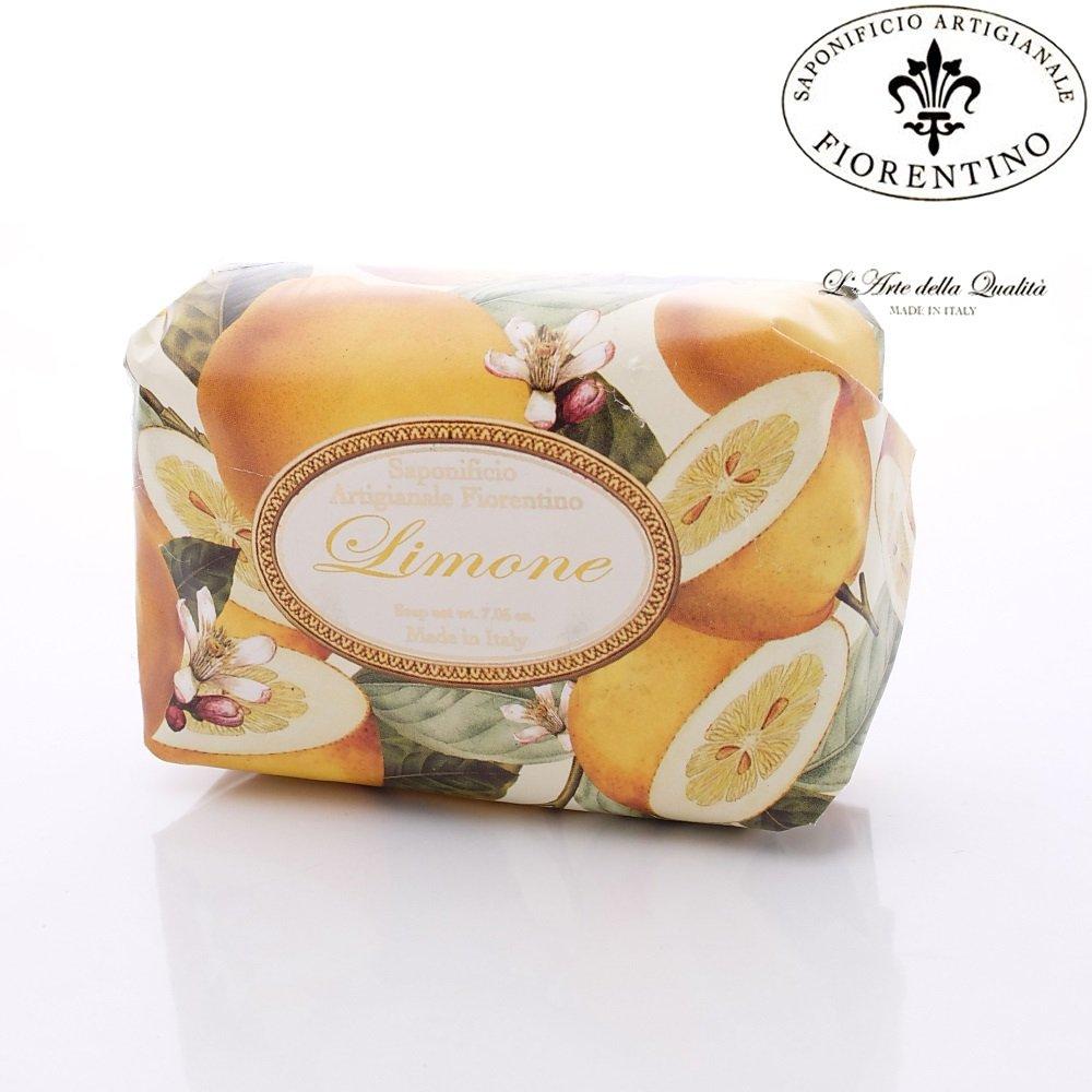 FIORENTINO義大利原裝純手工天然皂-檸檬-SA63(單顆200g)