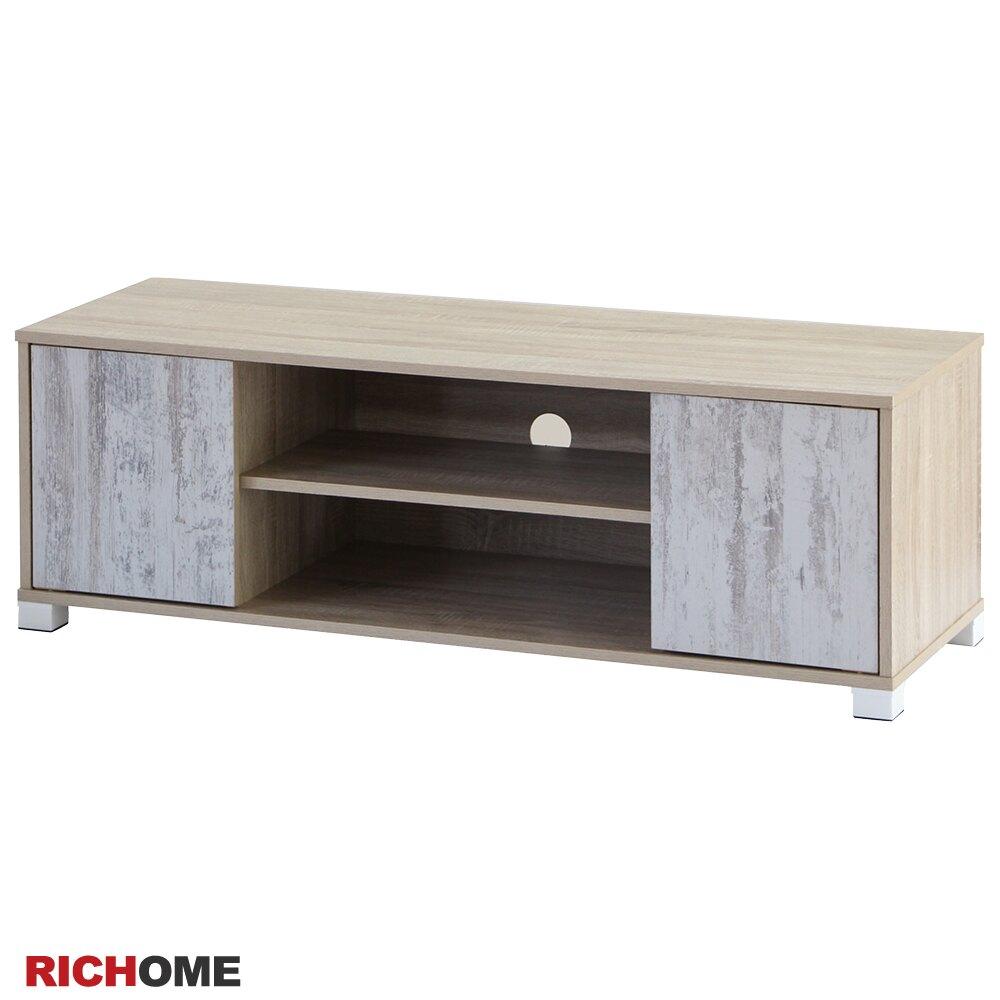 電視櫃  視聽櫃  收納櫃   客廳 【RICHOME】   TV159   《雙門超值電視櫃》