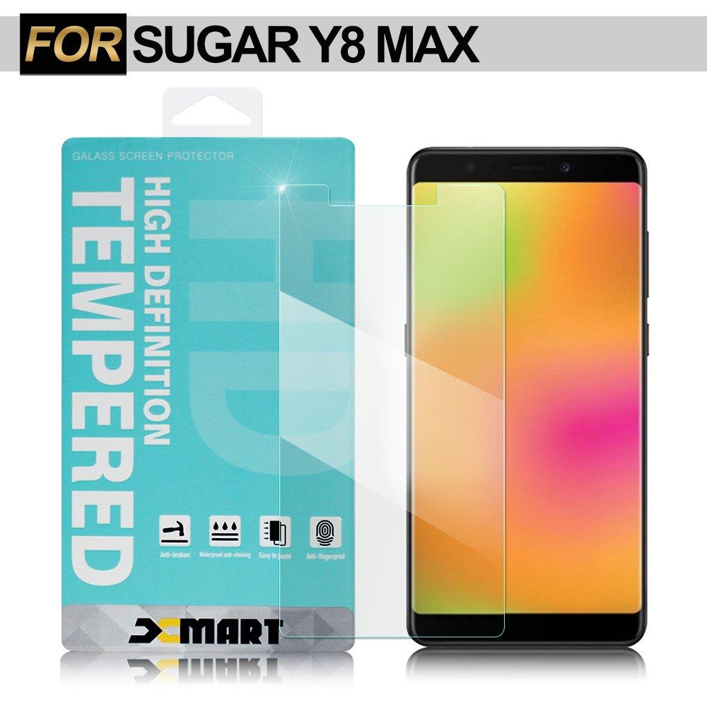 Xmart for SUGAR Y8 MAX 薄型 9H 玻璃保護貼-非滿版