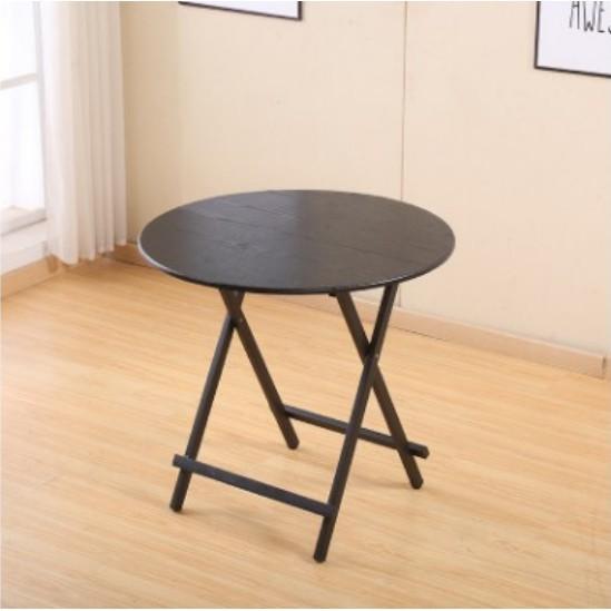 一件免運折叠桌家用 桌简易户外 摆摊桌 小户型简约 小圆饭 桌子便携 小阳台 餐桌