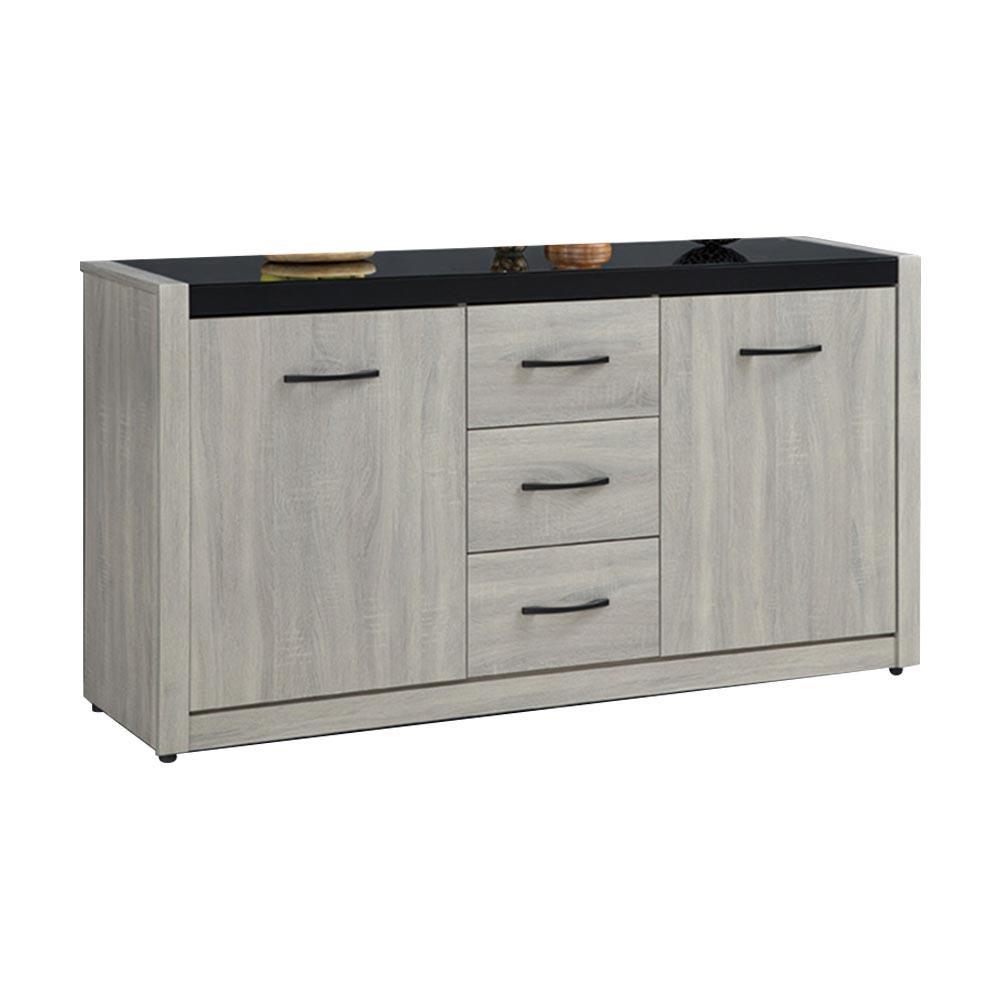 淺灰5.2尺碗盤櫃下座/H&D東稻家居-消費滿3千送點數10%