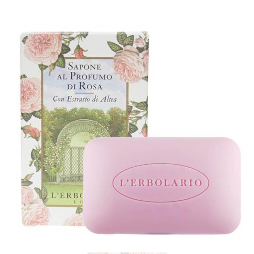 L'ERBOLARIO 蕾莉歐 玫瑰植物香氛皂(100g)