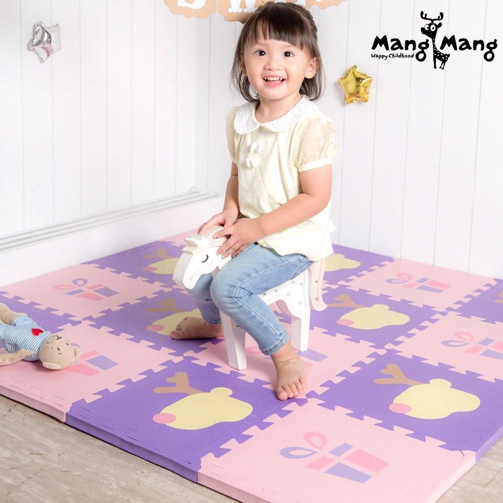 【Mang Mang 小鹿蔓蔓】寶貝安全防護地墊(禮物小鹿)