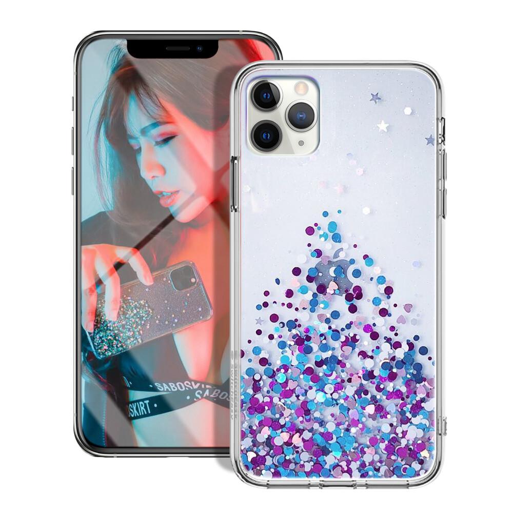xlme for iphone 11 pro 5.8吋 愛麗絲防摔軍規手機殼-魔幻紫