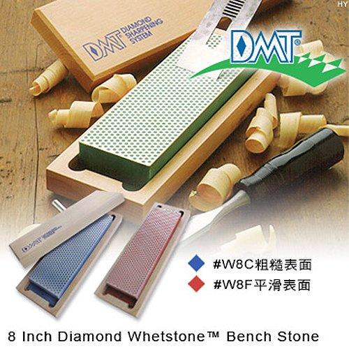 "DMT 8"" Diamond Whetstone Bench Stone 8吋磨刀石-木盒"