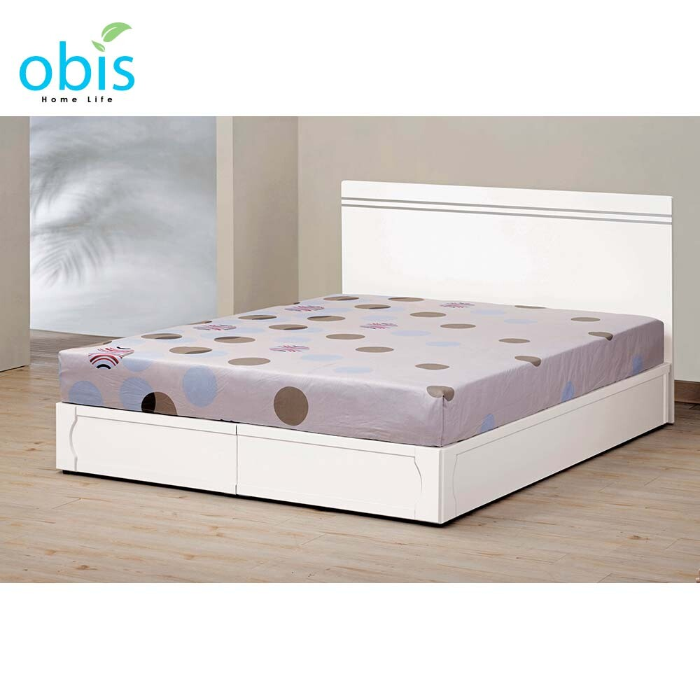 艾麗絲6尺床片型雙人床