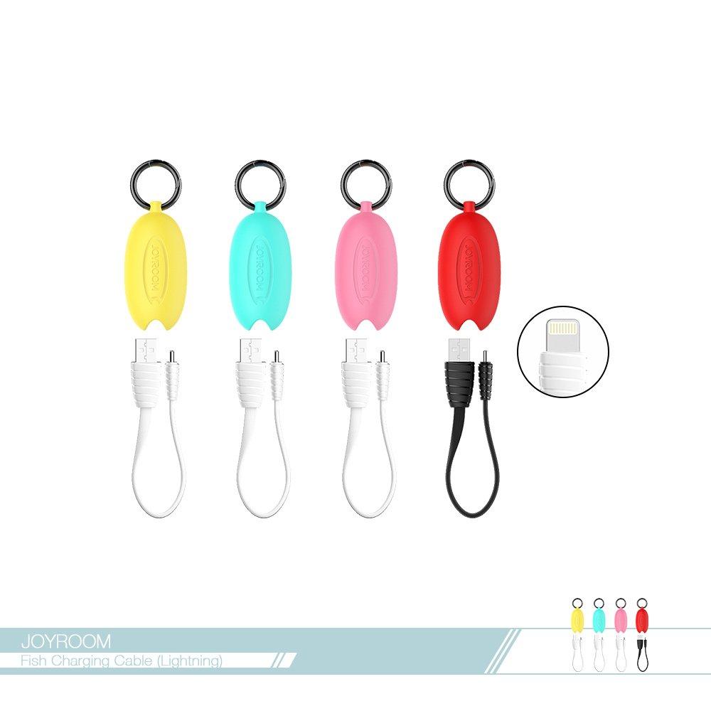 JOYROOM機樂堂 精巧文創魚 20.5cm Lightning數據傳輸線(S-M345) 電源連接線 iPhone適用