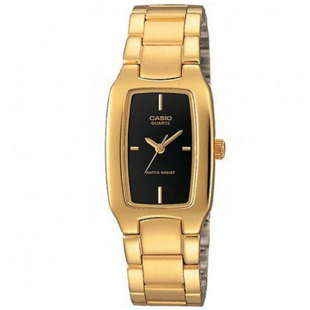 【CASIO卡西歐】婉約質感時尚不鏽鋼腕錶-黑 (LTP-1165N-1C)