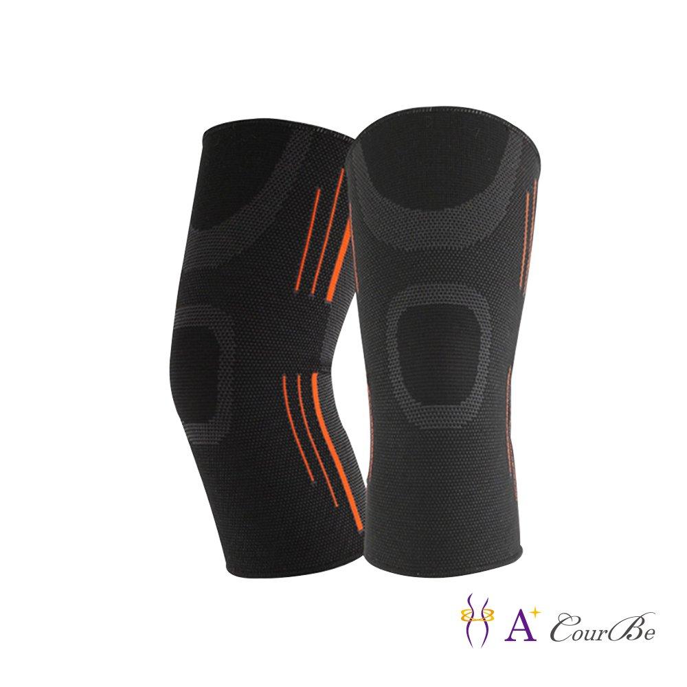 A+Courbe - 男女款 立體編織耐震透氣運動護膝/護具(1入)