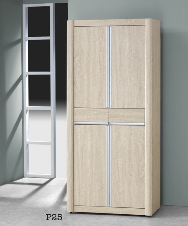 新精品gh-p25 浮雕淺色3x6尺高鞋櫃 (不含其他商品) 台中以北搭配車趟免運