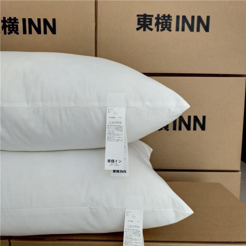 日本東橫 inn hotel 飯店專用超柔軟qq枕一般高度款