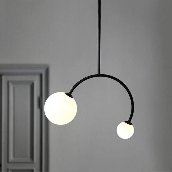 18park-微調吊燈 [黑色,全電壓]