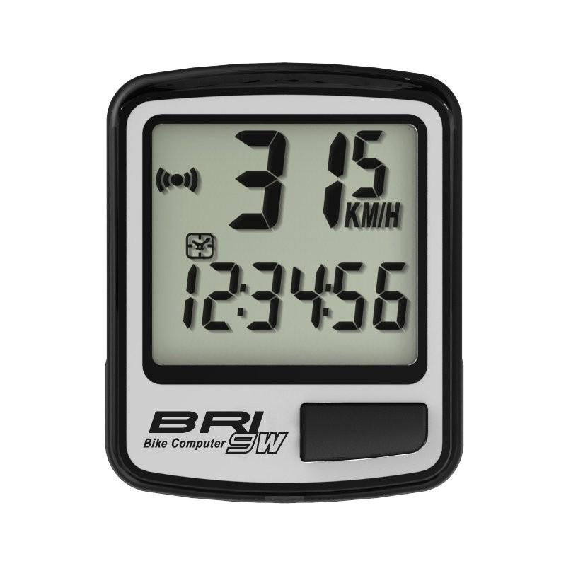 小謙單車全新echowell bri-9w 自行車碼錶/ 無線碼錶 / 9大功能(銀色)
