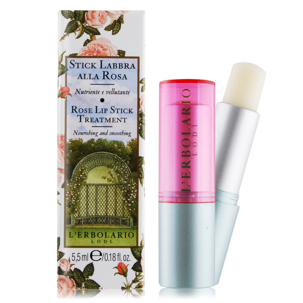 L'ERBOLARIO 蕾莉歐 玫瑰保濕護唇膏(5.5ml)-公司貨