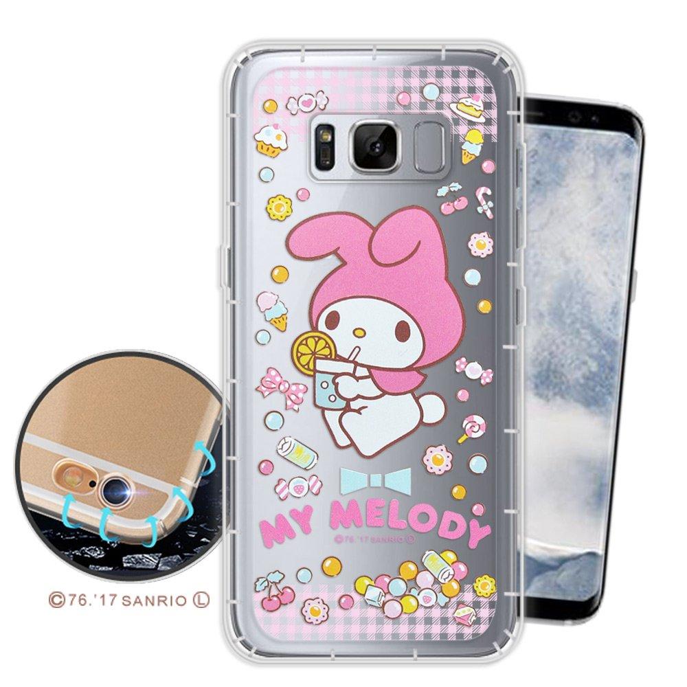 三麗鷗授權正版 My Melody Samsung Galaxy S8+ / S8 Plus 空壓氣墊保護殼(糖果美樂蒂) 三星