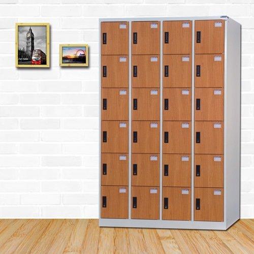 【時尚屋】[RU6]派爾斯多用途塑鋼製24格置物櫃RU6-KL-5524FF 免組裝/免運費