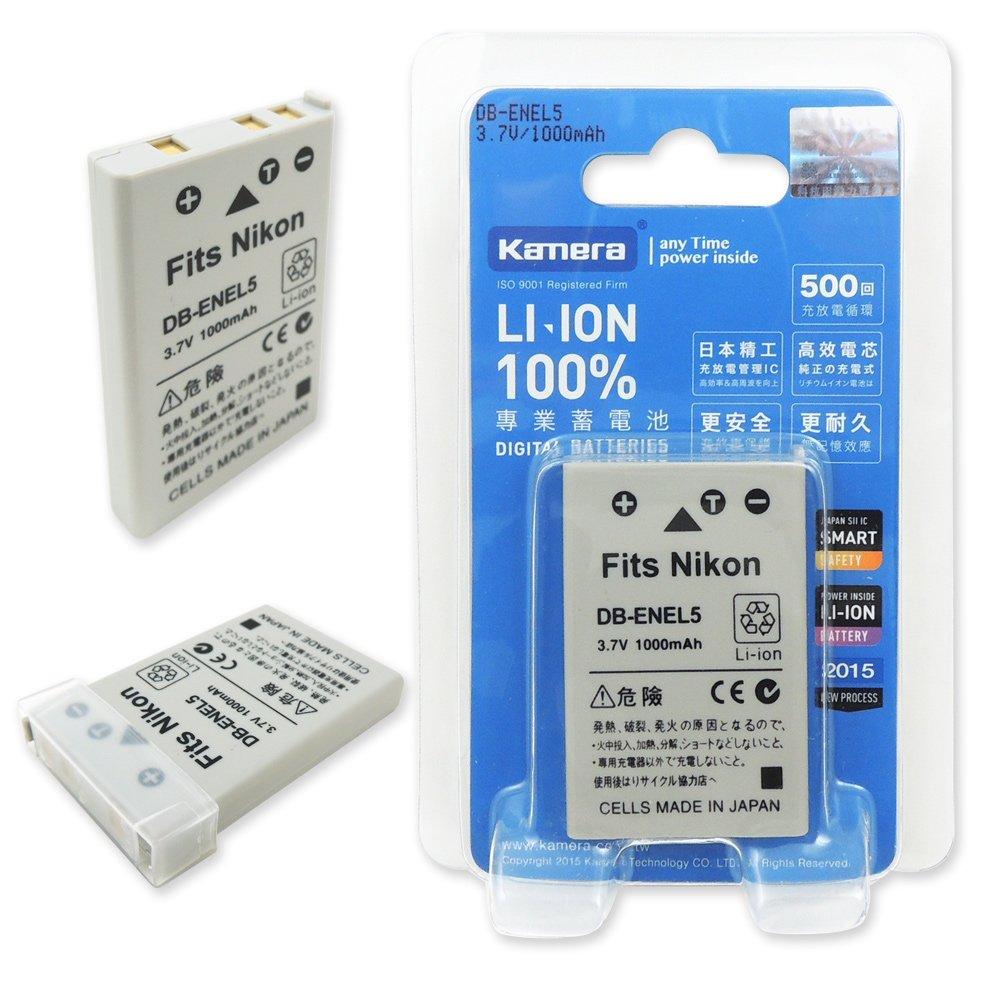 Kamera 通過BSMI認證 NIKON EN-EL5 高容量相機鋰電池