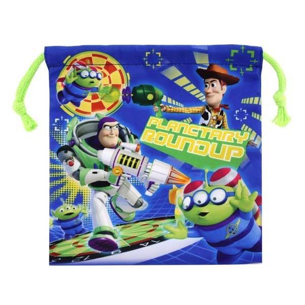 玩具總動員 束口袋 收納袋 抽繩束口袋 皮克斯 迪士尼 disney 日本正版072440