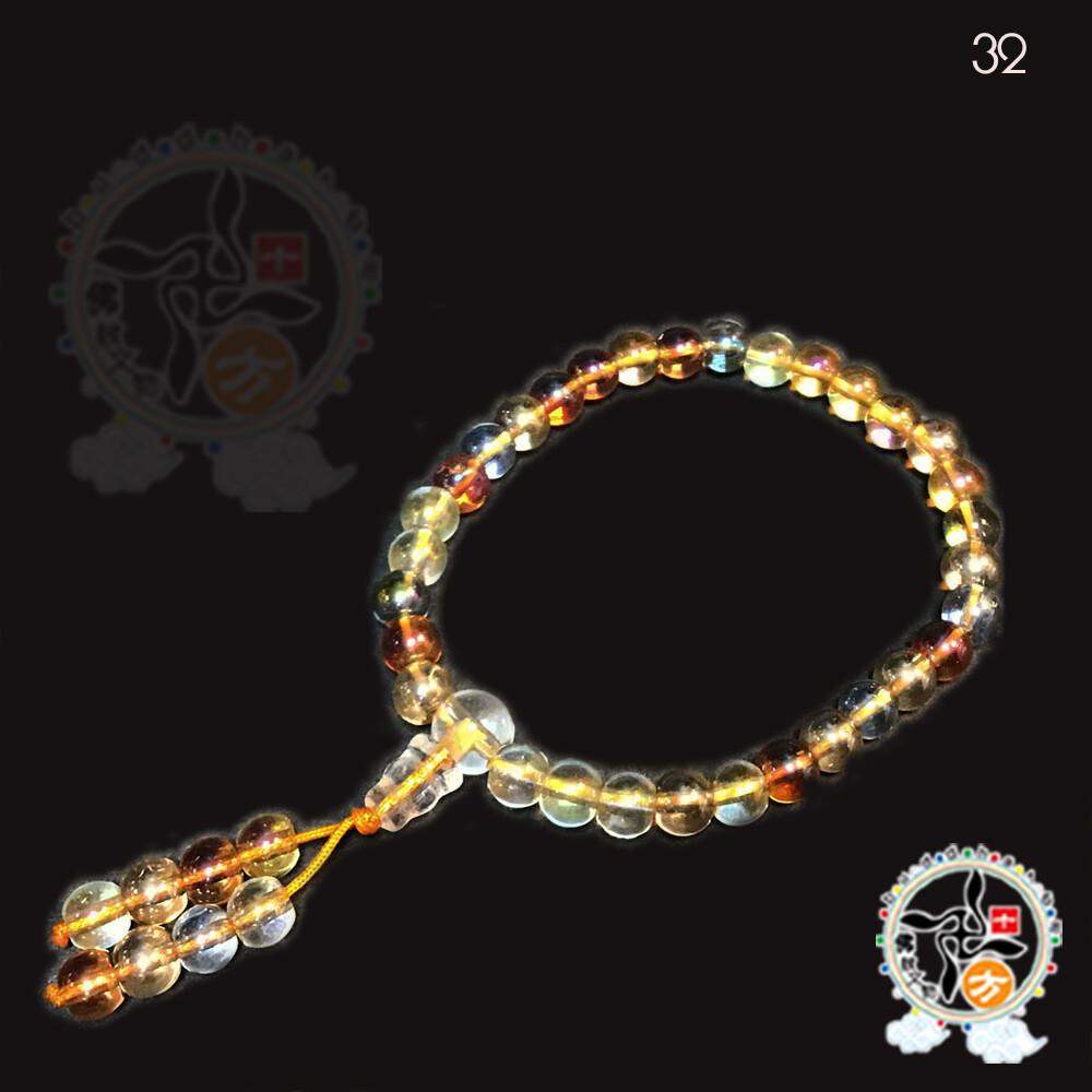 七寶琉璃手珠6mm 十方佛教文物