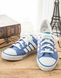 中國強 MIT 經典休閒帆布鞋CH81(藍)