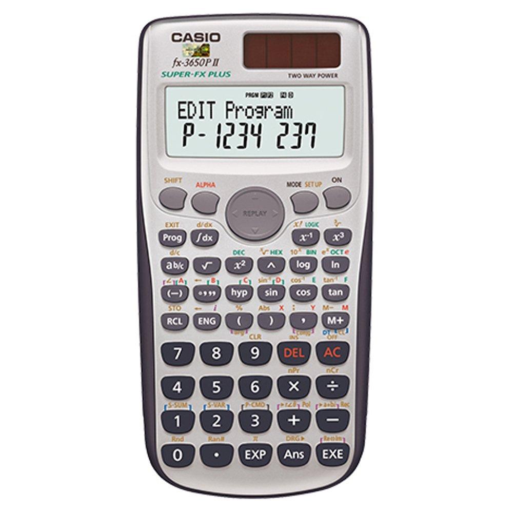 CASIO卡西歐 新一代程式編輯型工程計算機 (FX-3650PII)