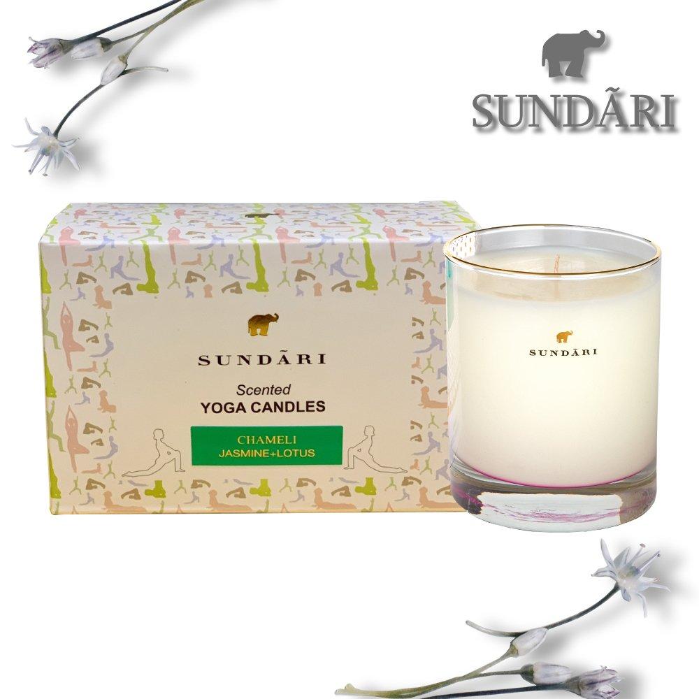【SUNDARI】美國原裝進口天然大豆植物香氛蠟燭(70gx2)