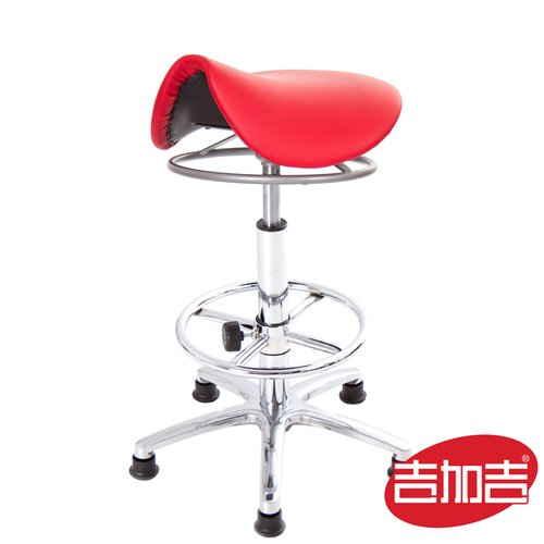 GXG 馬鞍型 工作椅 TW-T04LUK (電金踏圈款)
