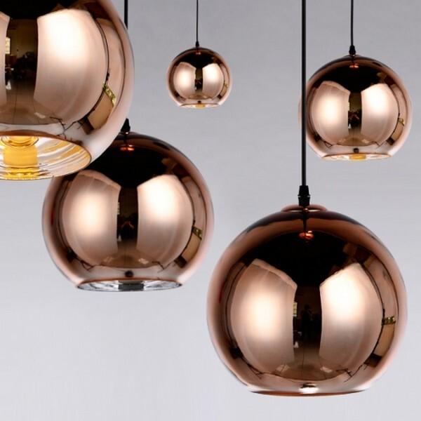 18park-鏡面球吊燈-3色 [35cm,鍍銀]