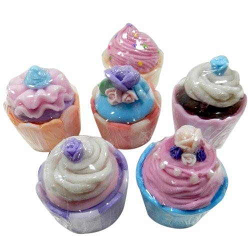 金德恩  甜點杯子蛋糕造型香皂禮盒 1組2入一組